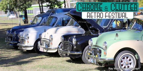 Chrome & Clutter Retro Festival 2019 - Show 'N' Shine tickets