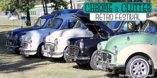 Chrome & Clutter Retro Festival 2019 - Show 'N' Shine
