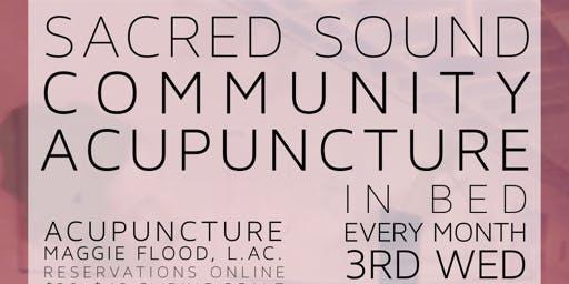 Sacred Sound Community Acupuncture