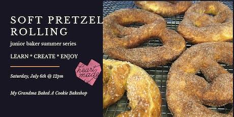 Soft Pretzel Rolling | Junior Baker Summer Series tickets