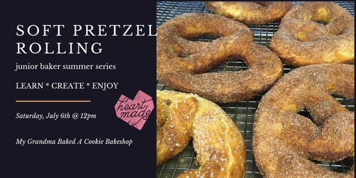 Soft Pretzel Rolling | Junior Baker Summer Series