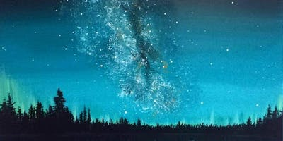 Creation Space -  Paint the Aurora With Maddy Tetreault