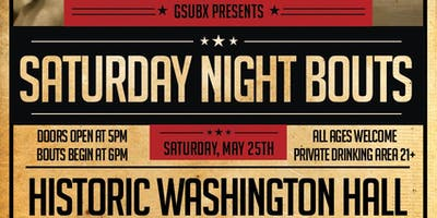 GsubX Presents: Saturday Night Bouts