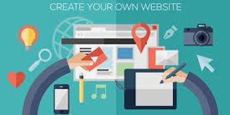 Learn To Create Your Own Business Website Tutorial Course (1 Day Training) tickets