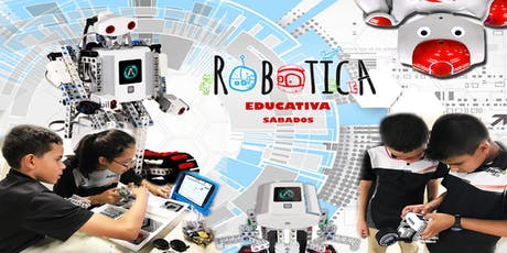 Curso de Robótica & Video Juegos / Sabatino / Univ. Politécnica / 4 a 18 años tickets