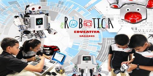 Curso de Robótica & Video Juegos / Sabatino / Univ. Politécnica / 4 a 18 años
