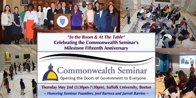 """""""In the Room & At the Table"""": The Commonwealth Seminar's 15th Anniversary"""