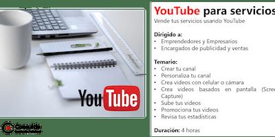 YouTube para servicios