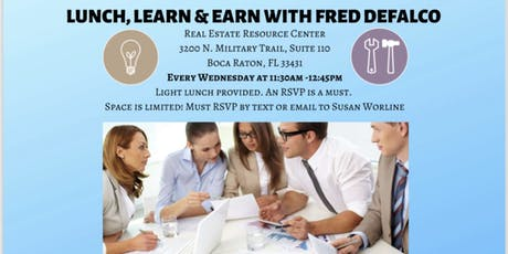Realtor Lunch & Learn with Fred DeFalco tickets