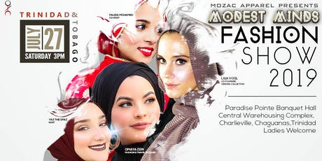 Modest Minds Fashion Show 2019 Trinidad & Tobago tickets