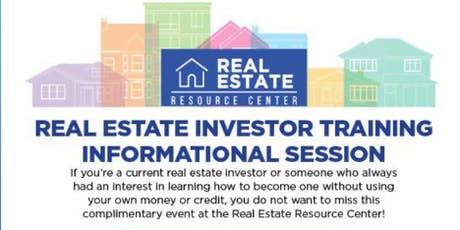 Real Estate Investor Training & Informational Session tickets