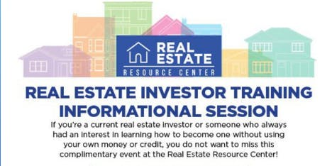 Real Estate Investor Training & Informational Session
