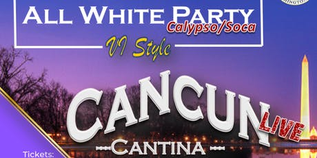 """Virgin Islands Association, Inc.  Present  """"All White Party"""" tickets"""