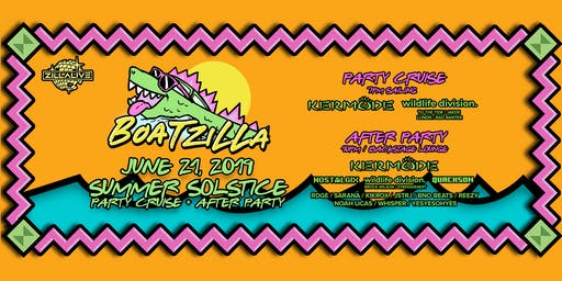 Boatzilla! Summer Solstice Party Cruise + After Party