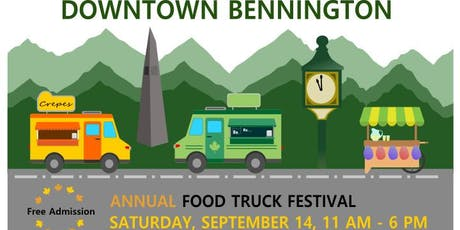 Bennington Annual Food Truck Festival tickets