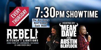 Thursday Night Comedy @ Rebel Kitchen