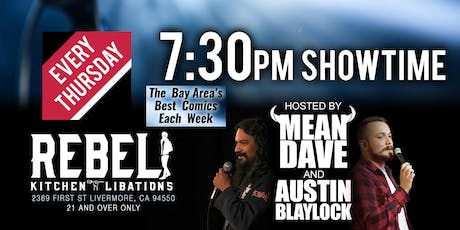 Thursday Night Comedy @ Rebel Kitchen tickets