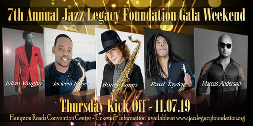 THURSDAY KICK-OFF-BONEY JAMES - JACKIEM JOYNER - PAUL TAYLOR - JULIAN VAUGHN - MARCUS ANDERSON