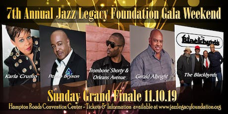 SUNDAY GRAND FINALE -TROMBONE SHORTY & ORLEANS AVENUE - GERALD ALBRIGHT - PEABO BRYSON - THE BLACKBYRDS - KARLA CRUMP tickets