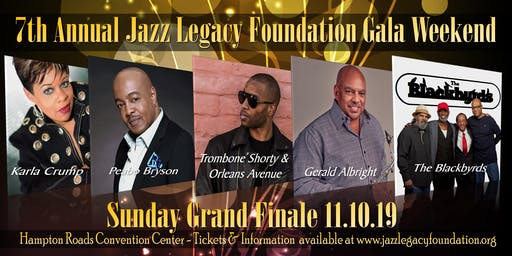 SUNDAY GRAND FINALE -TROMBONE SHORTY & ORLEANS AVENUE - GERALD ALBRIGHT - PEABO BRYSON - THE BLACKBYRDS - KARLA CRUMP