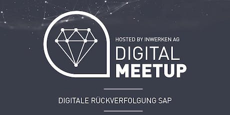 Digitale Rückverfolgung SAP - Digital MeetUp Tickets