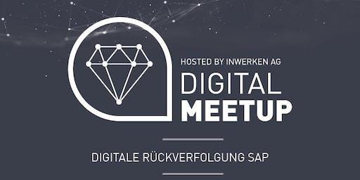 Digitale Rückverfolgung SAP - Digital MeetUp
