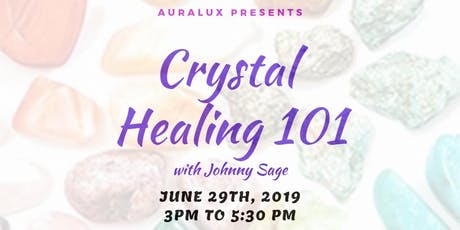 Crystal Healing Workshop at the Fiesta of Gems tickets