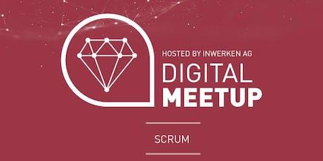 Scrum - Digital MeetUp Tickets