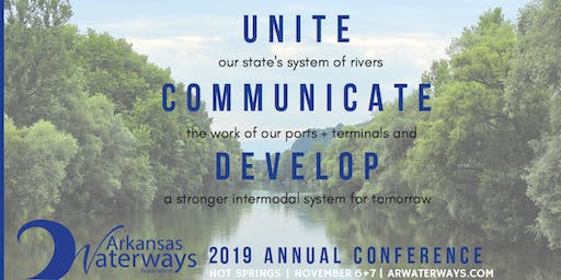 November 6th and 7th, 2019 Arkansas Waterways Association Conference