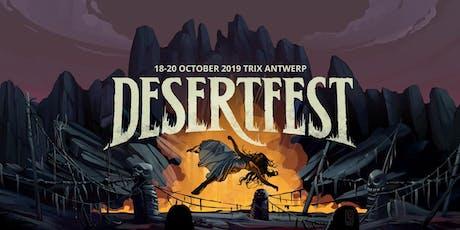 DESERTFEST ANTWERP 2019 billets