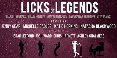 Licks of Legends - Ladies of Jazz