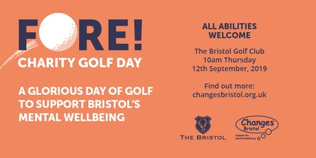Fore! Charity Golf Day tickets