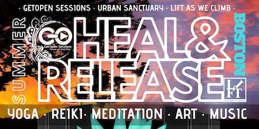 HEAL & RELEASE Boston