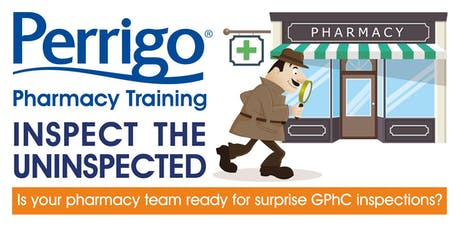 Pharmacy Training - Inspect The Uninspected  tickets