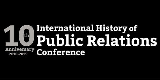 International History of Public Relations Conference 2019