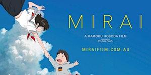 Screening of Japanese animated film 'Mirai'