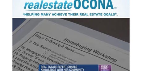 FREE realestateOCONA Homeowning And Grants Workshop tickets