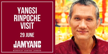 Yangsi Rinpoche 'Vajrasattva Initiation with Graded Path to Enlightenment teachings' tickets