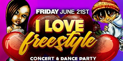 I Love Freestyle Concert Series