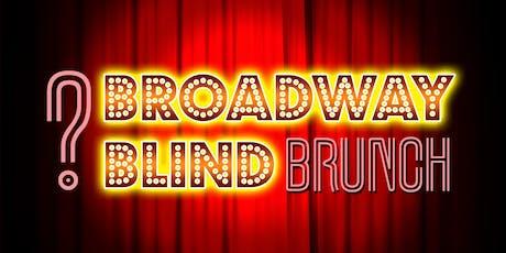 BROADWAY BLIND - A musical Sunday Brunch tickets