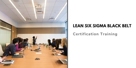 Lean Six Sigma Black Belt (LSSBB) Training in Merced, CA tickets