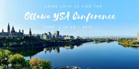 Ottawa YSA Summer Conference 2019 billets