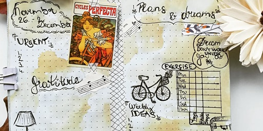 Habit Tracker and Well-being Creative Journaling Workshop