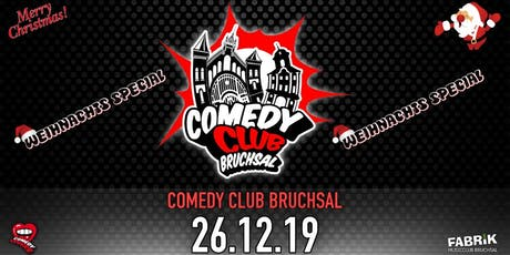 Comedy Club Bruchsal - Weihnachts Special Tickets