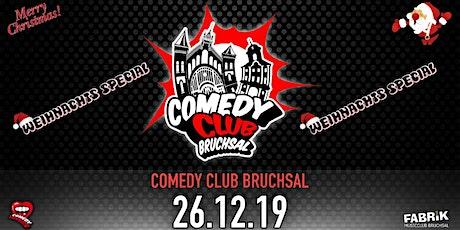 Comedy Club Bruchsal - Weihnachts Special Tickets