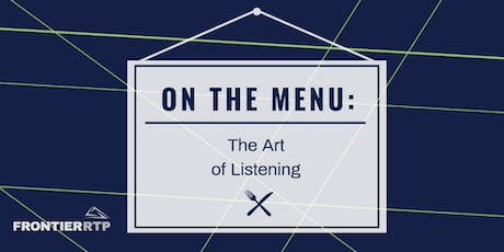 On the Menu: {The Art of Listening} tickets