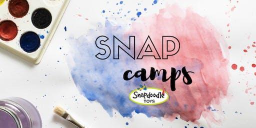 Snapdoodle SNAP Camp Week #2 (July 15-19): Science Sensations