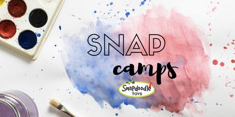 Snapdoodle SNAP Camp Week #3 (July 22-26): Monster Madness & Fantasy Fun tickets