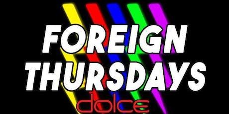 Foreign Thursdays tickets