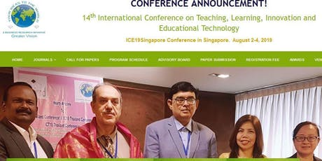 14th International Conference on Teaching, Learning, Innovation and Educational Technology (GVC) tickets